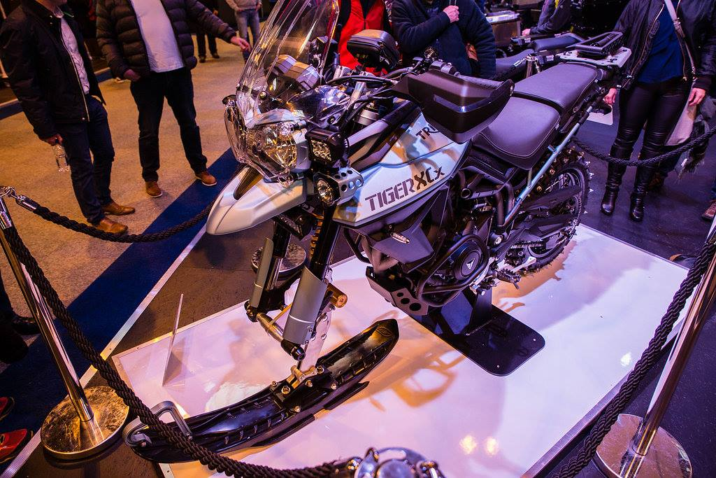 Triumph Tiger 800 Ice-Bike