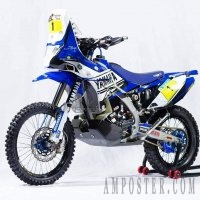 Новый мотоцикл Yamaha YZ450F Rally