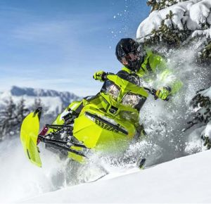 BRP Ski-Doo Freeride 2015. Молодо-зелено!