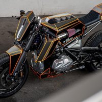 BMW R1250GS Dominator – кастом от Ironwood Custom Motorcycles