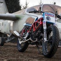 Кастом Ducati 750SS для грунтовых дорог