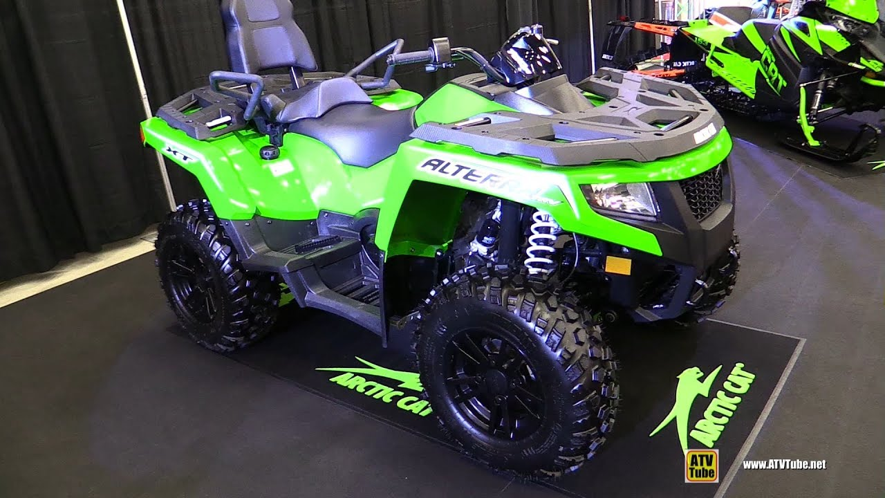 2018 Arctic Cat Alterra TRV 700 XT Recreational ATV - Walkaround - 2017 Drummondville ATV Show