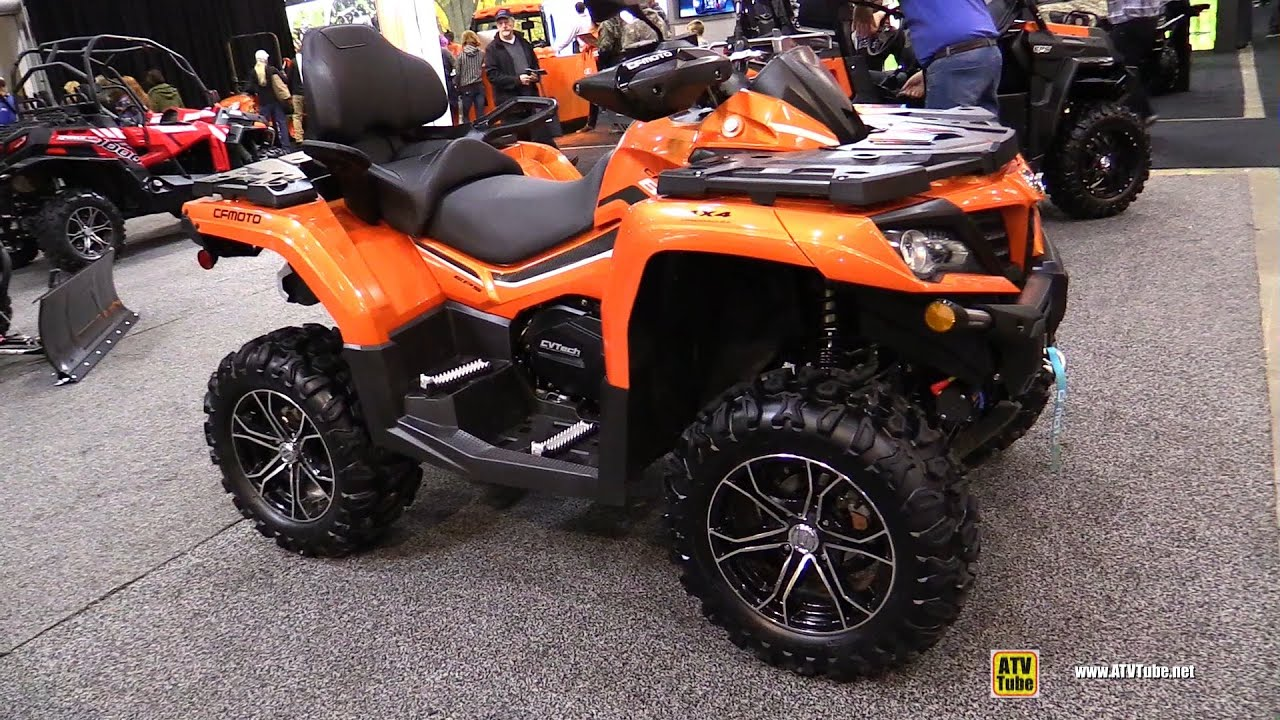 2019 CfMoto C-Force 800 XC Recreational ATV - Walkaround - 2018 Toronto ATV Show