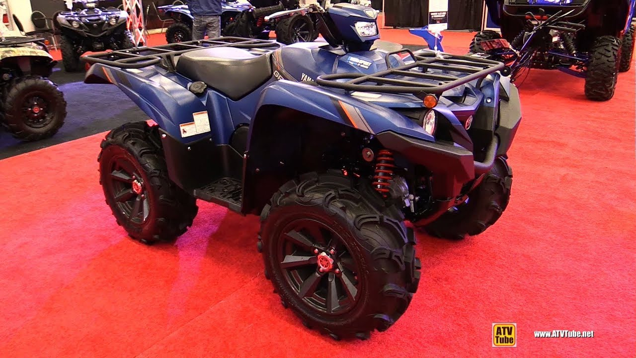 2019 Yamaha Grizzly 700 DAE SE Recreational ATV - Walkaround - 2018 Drummondville ATV Show