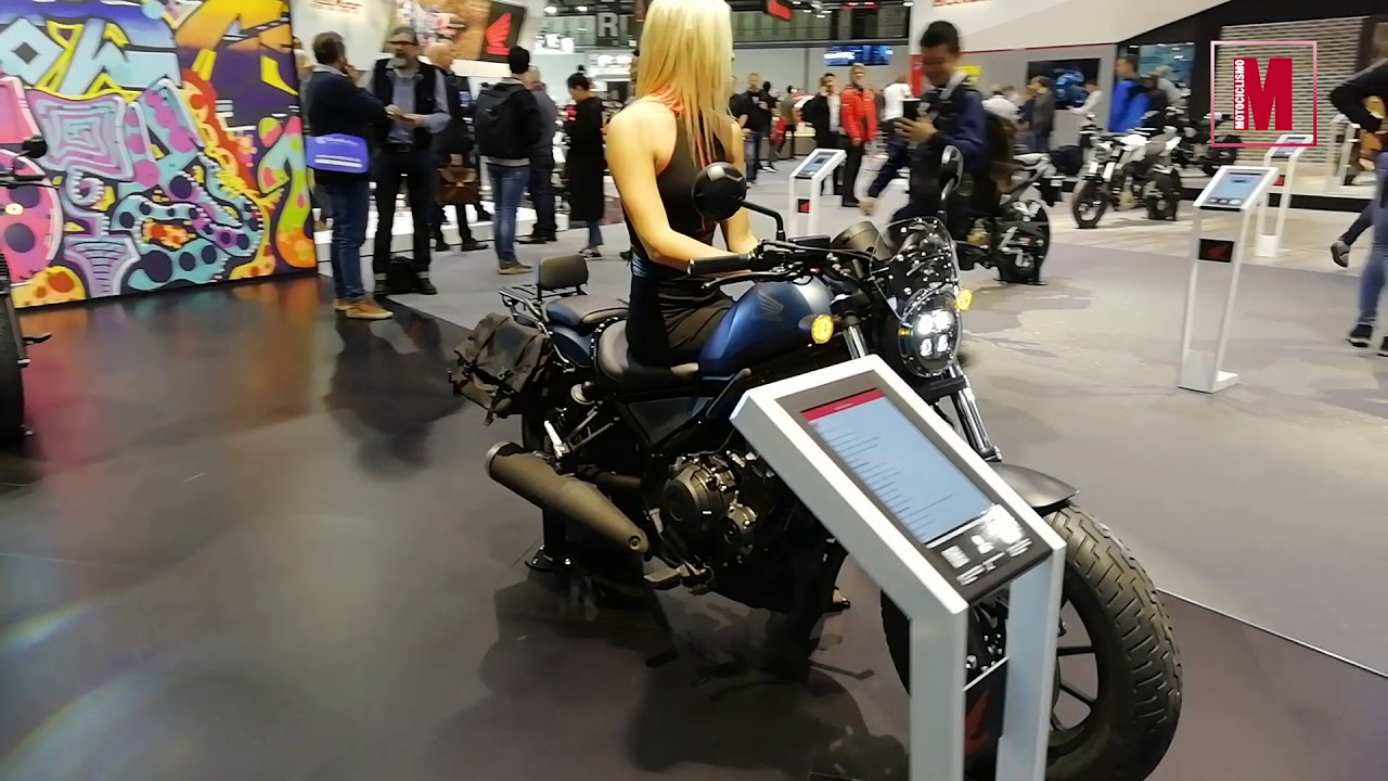 Мотовыставка EICMA 2019 мотоцикл  Honda Rebel