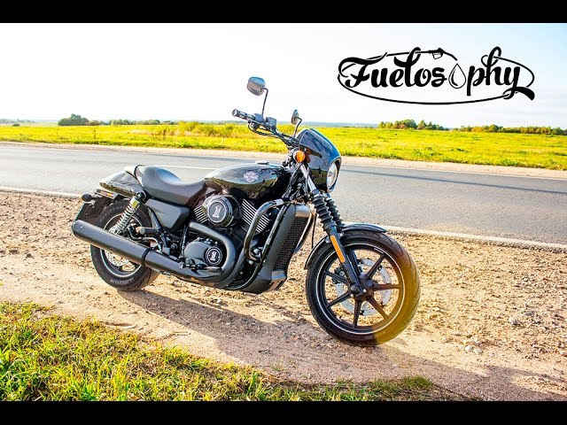 Тест-драйв Harley-Davidson Street 750 - Night Rod младший.