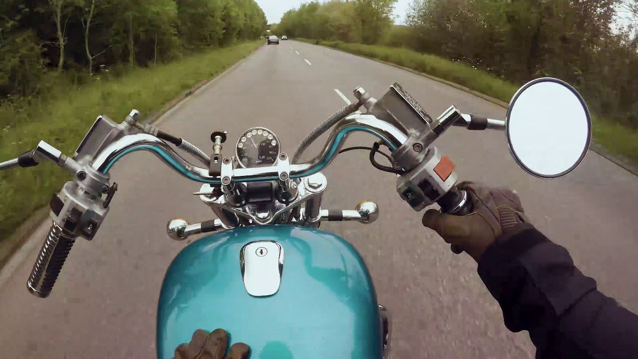 That moment you realise the Clutch has gone bad - Suzuki Intruder VS1400 - 2019