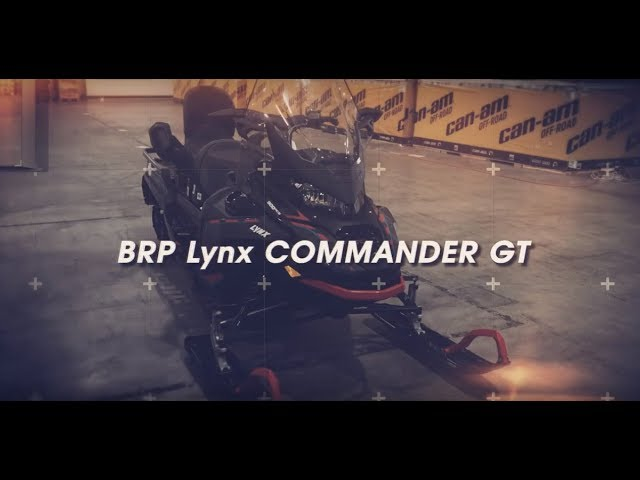 Обзор Снегохода BRP Lynx Commander Grand Tourer 900 ACE Turbo 2020