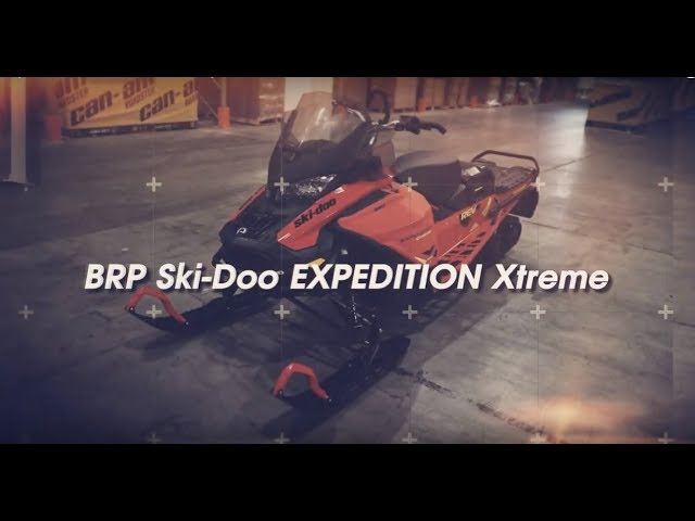 Обзор снегохода BRP Ski-Doo Expedition Extreme 2020