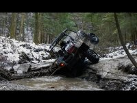 Polaris RZR XP vs RZR 4 - Creek + Ravine -Technical Trail Riding - Crazy Climbs & Dangerous Decents