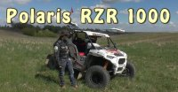 #Докатились! Тест драйв боевого Polaris RZR 1000 Suprotec Racing