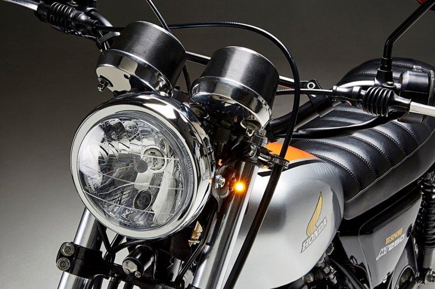 Honda MT250 Elsinore – отреставрированный кастом