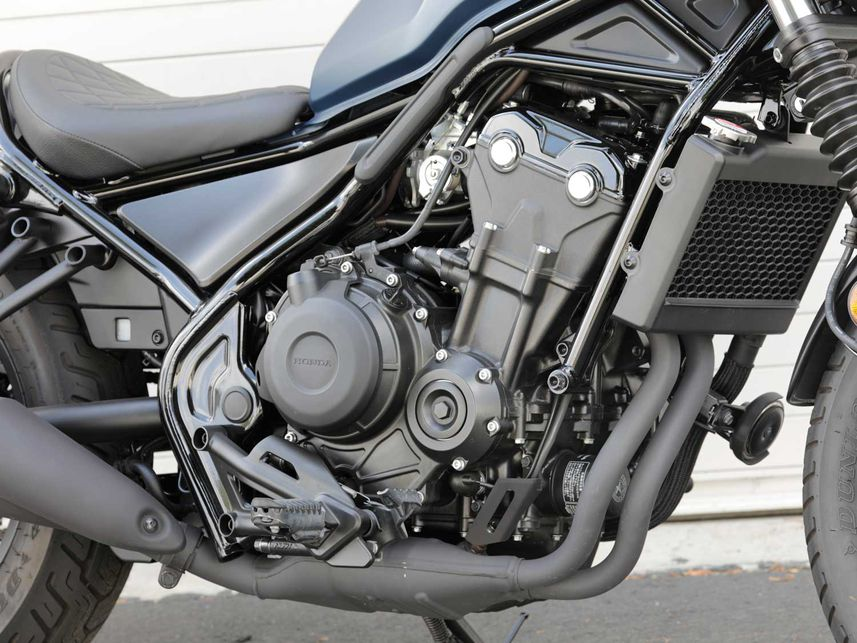 Honda Rebel 500 ABS 2020 – мотоцикл с налетом элегантности