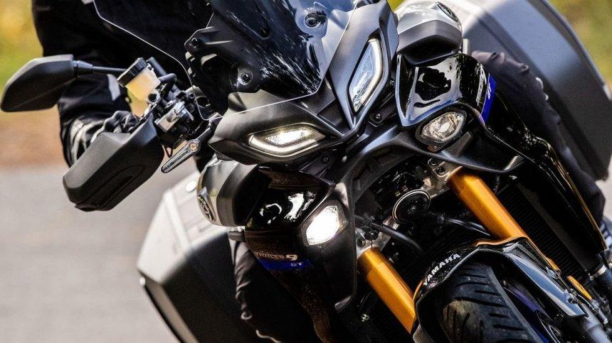 Yamaha анонсировала новый мотоцикл Tracer 9 GT 2021