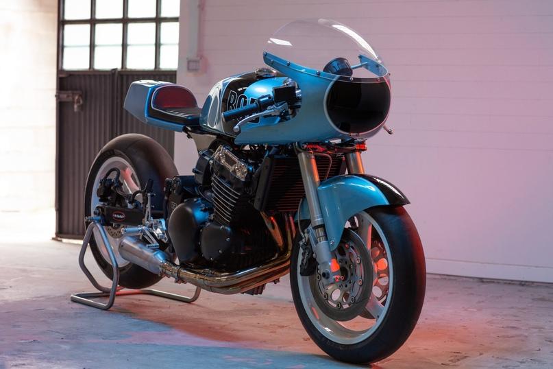 Triumph Bob – мощный кастом от мастерской Mr Martini