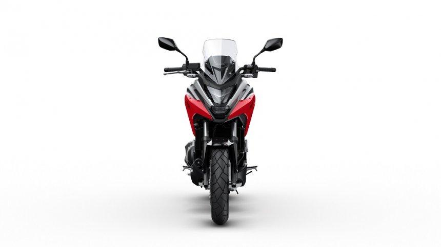 Honda NC750X 2021: быстрее, легче, безопаснее