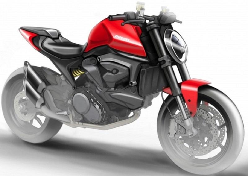 Ducati работает над созданием нового Monster