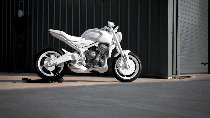 В сети появились официальные фото Triumph Trident 2021 модельного ряда