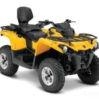 Тест-драйв Can-Am Outlander L MAX DPS 570