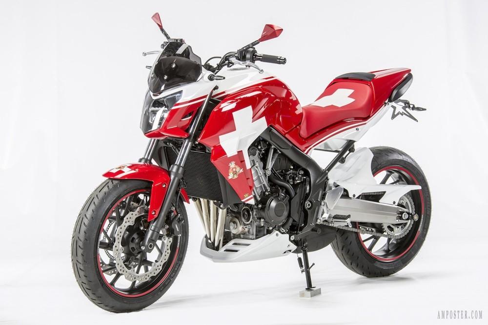 Honda CB650F Swiss Edition