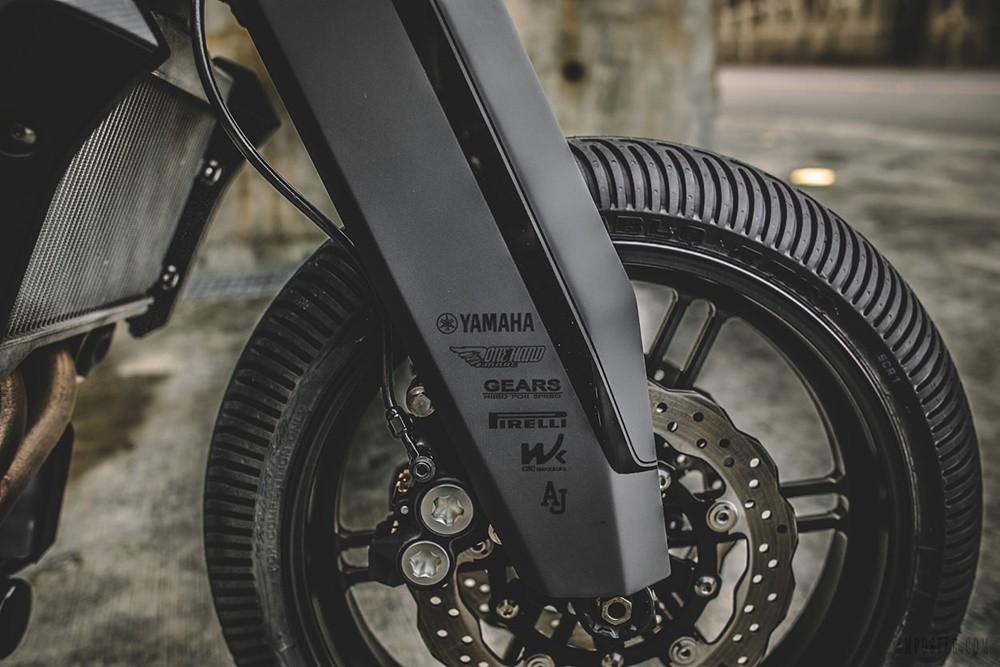 Кастом Yamaha MT-07 Onyx Blade