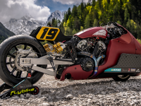 «Самый быстрый Indian» - драгрейсинг-кастом «Indian Scout Bobber Appaloosa»