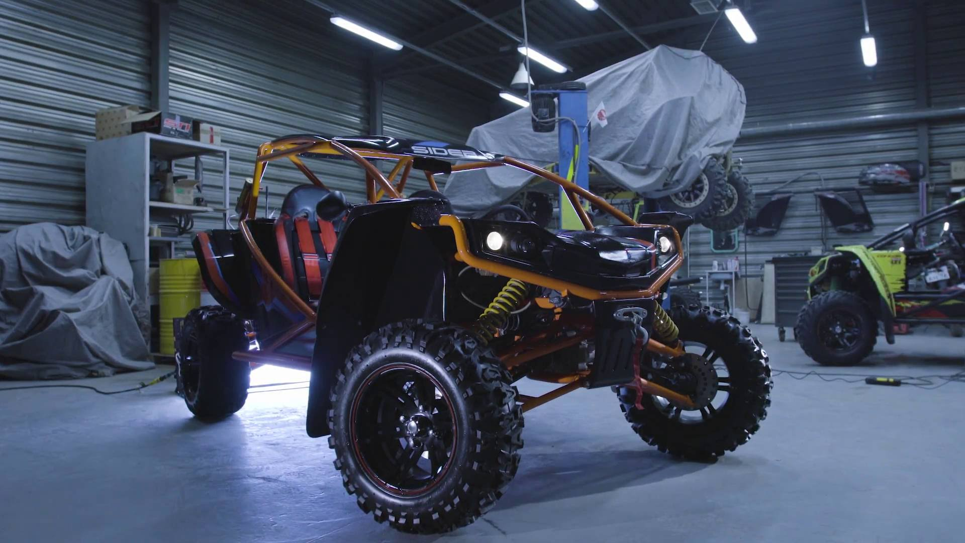 Buggy Sider Condor killer Polaris, Cfmoto и brp
