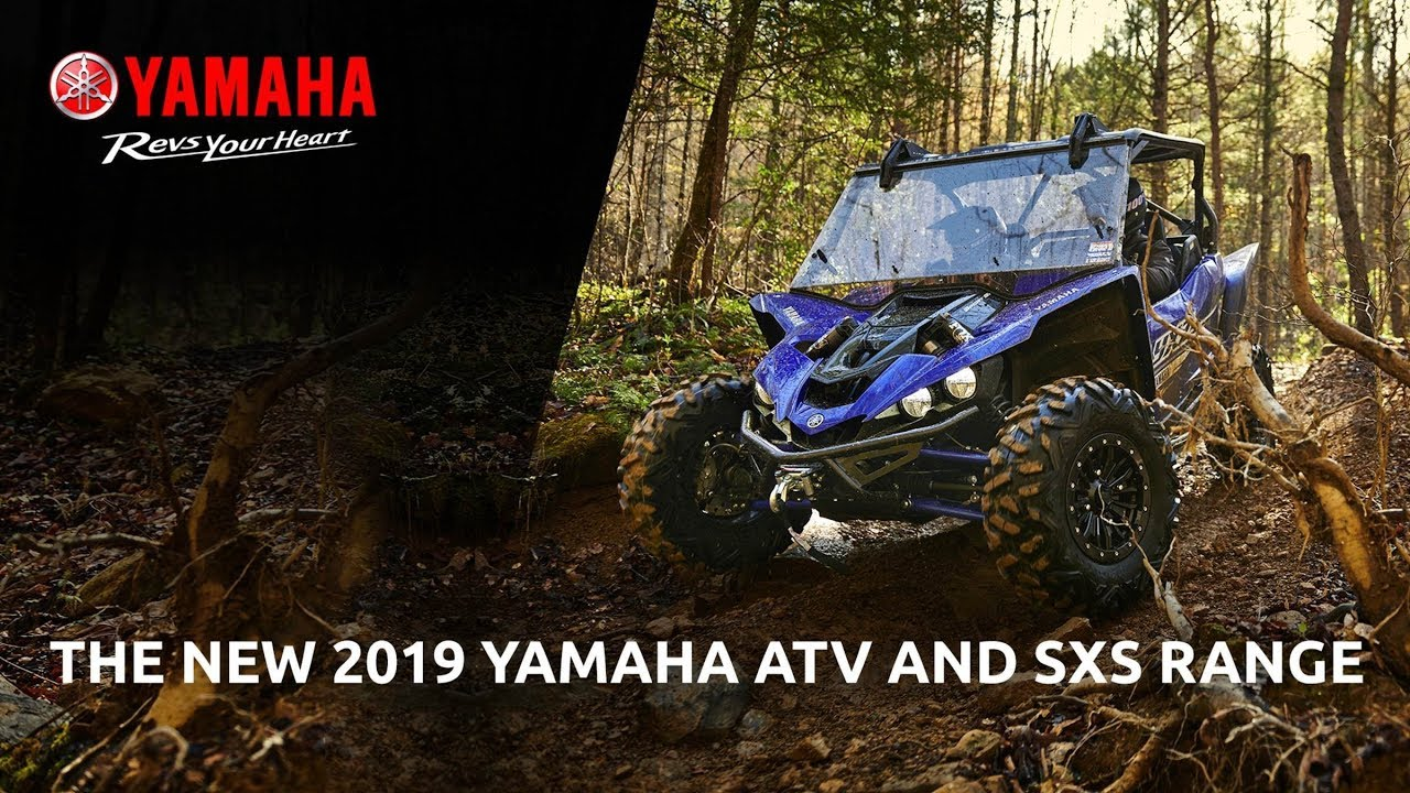 2019 Yamaha ATV and ROV range