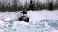 Can-am Renegade - After the storm/Deep snow/Powder