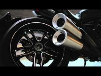Мотоцикл Ducati Diavel Carbon 2016 (промо видео)